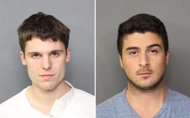 脱糞した男二人 サミュエル・ブランド23歳とアレックス・レン22歳