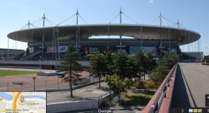 フランススタジアム前景