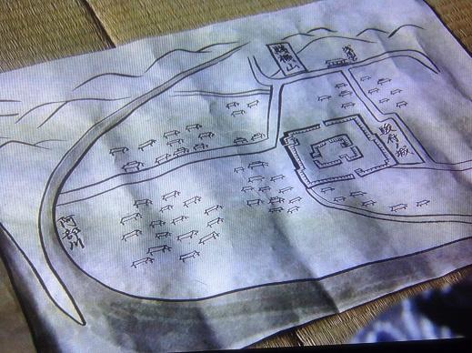 駿府城見取り図
