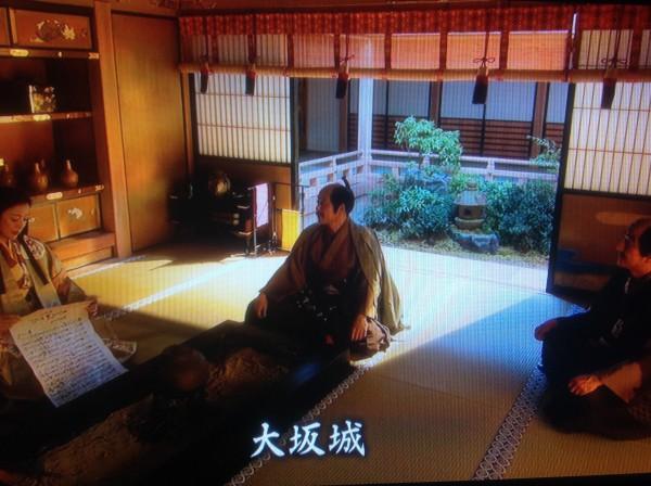 大阪城で待つ寧々と且元、病身の秀長