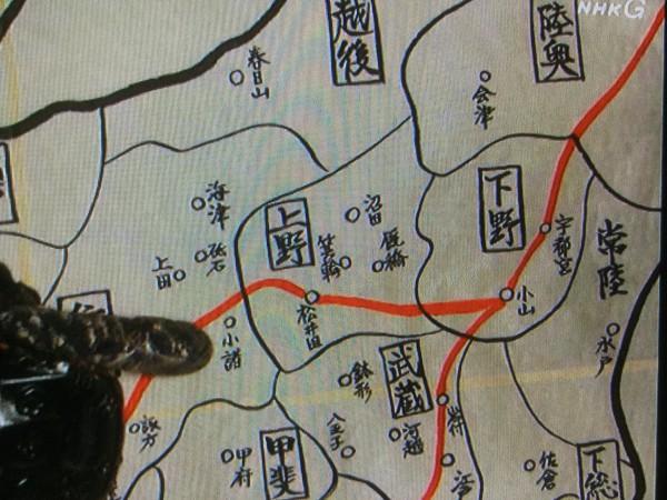 会津から小諸へ戻る徳川軍を討つ