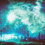 星雲に包まれる夜